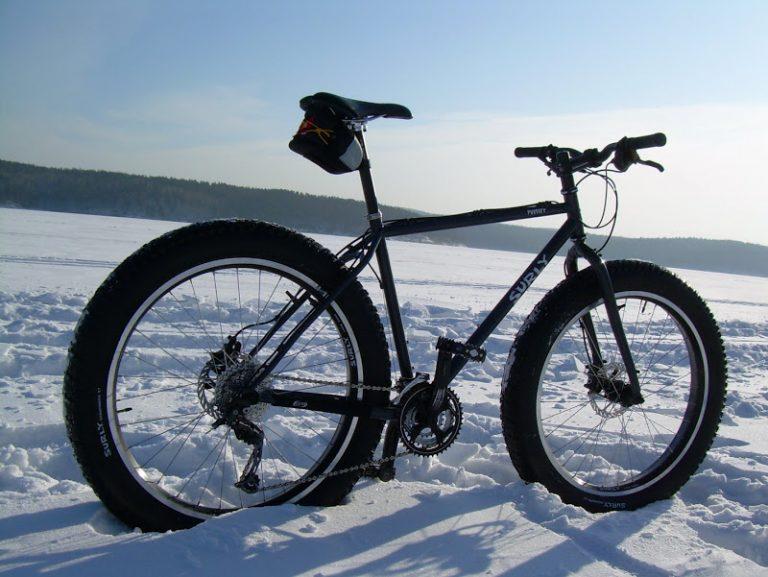 Фэтбайк (Fatbike) — велосипед на больших колёсах