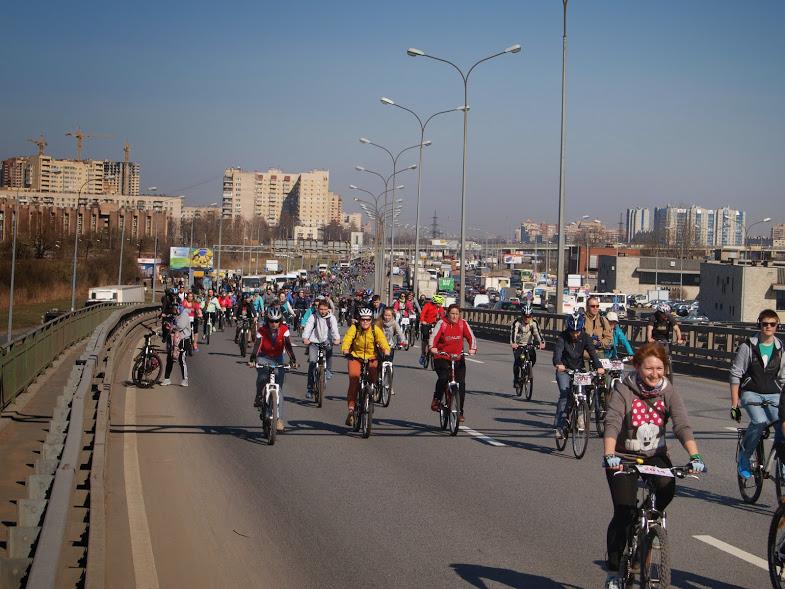 Состоялось Открытие летнего вело сезона 2014 клуба Велопитер